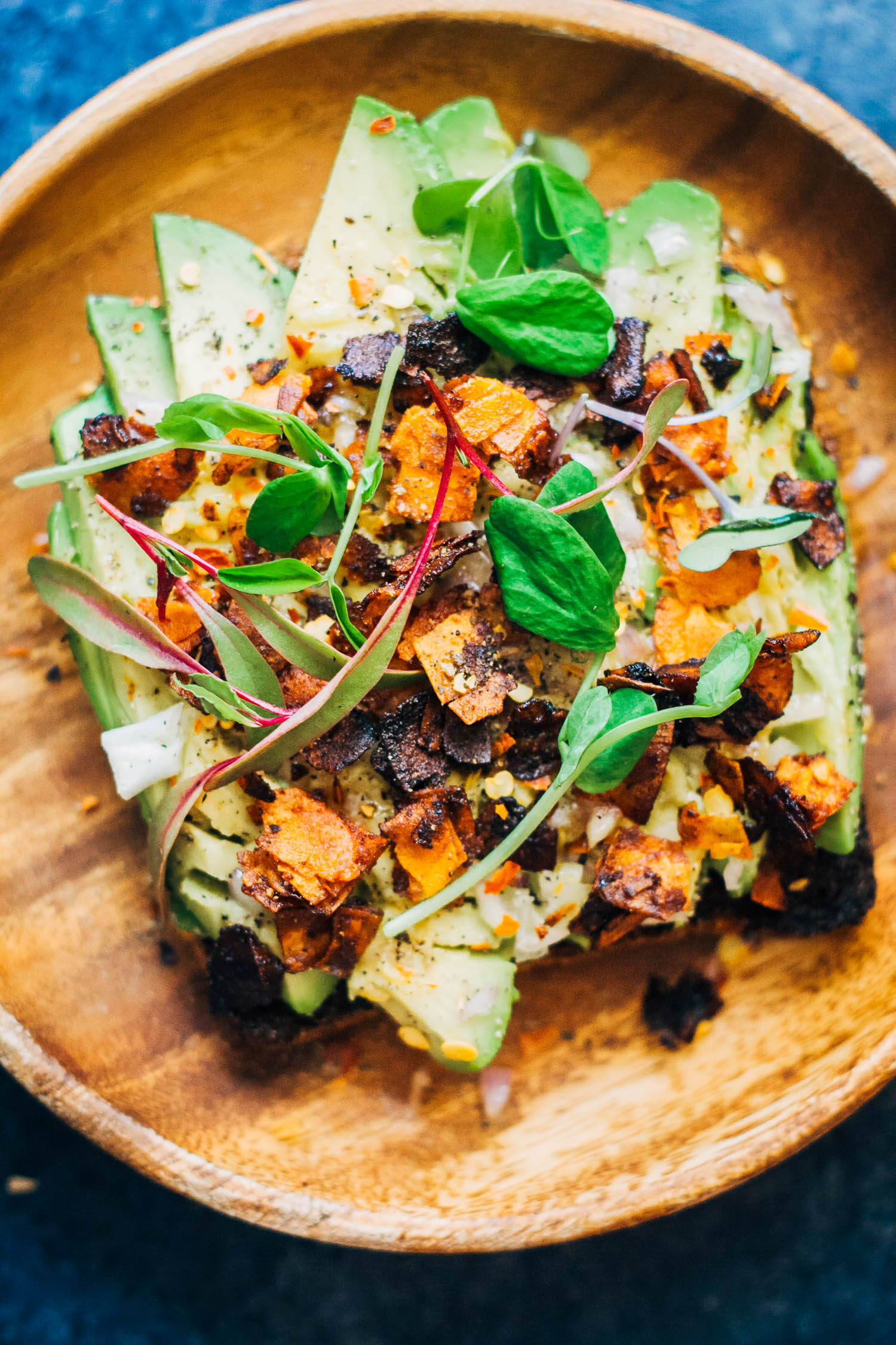 Vegan Breakfast Salad   Well and Full   #vegan #healthy #recipe
