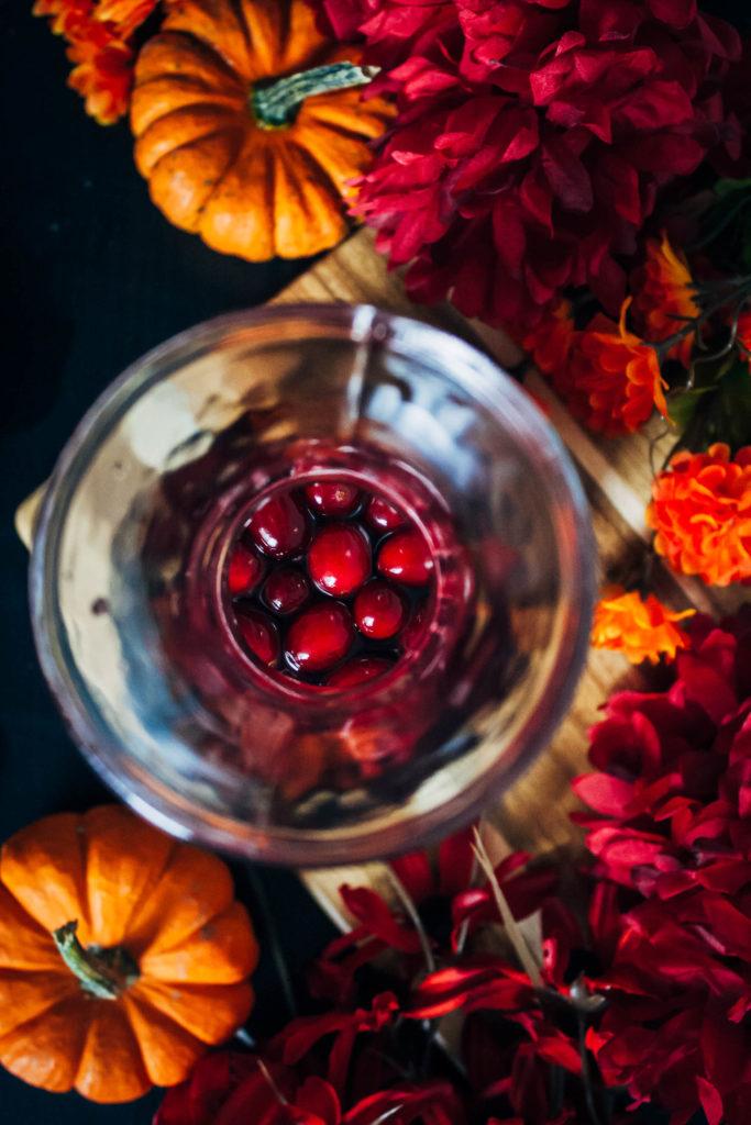 A Festive Fall Sangria | Well and Full | #wine #recipe