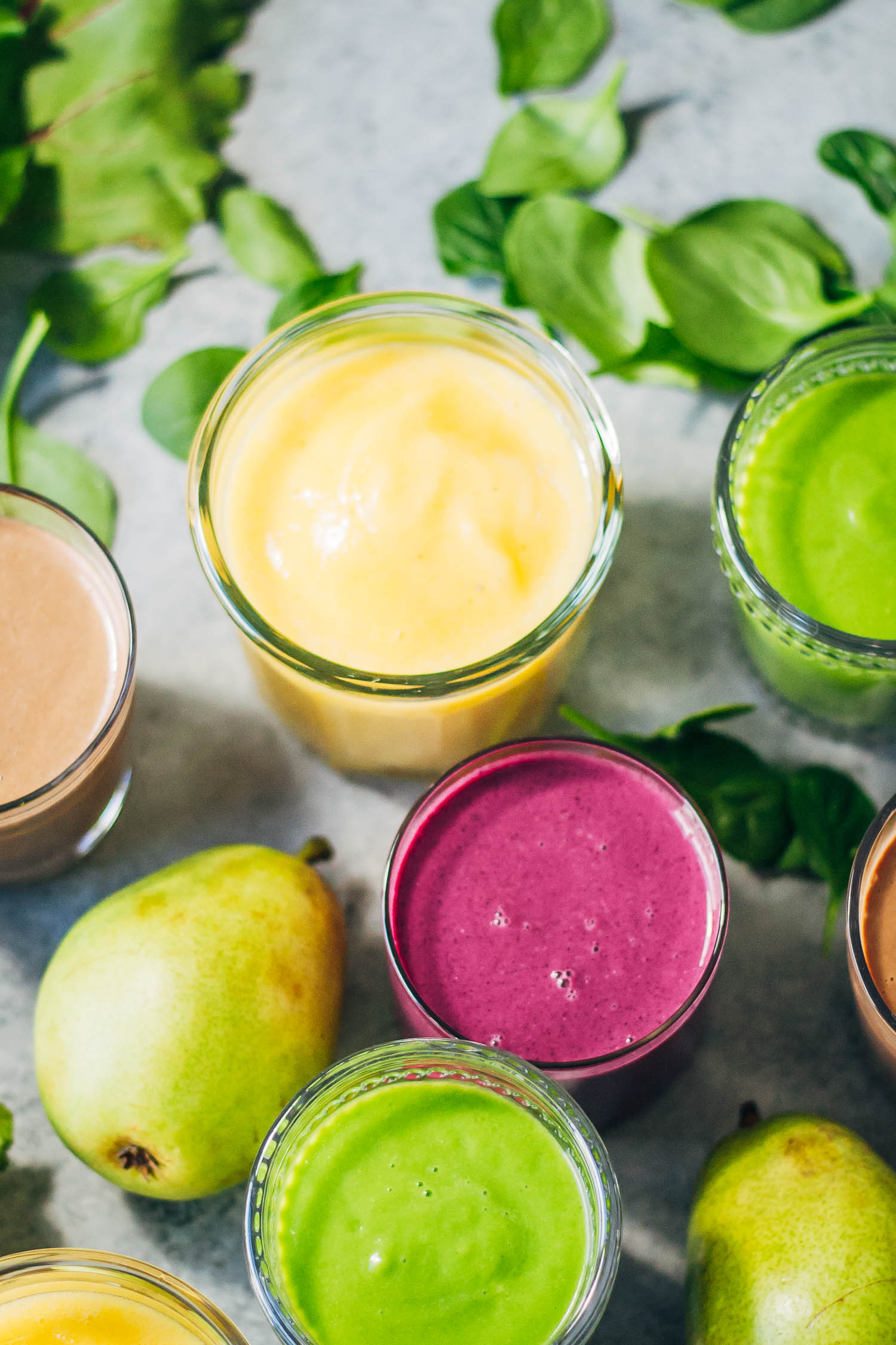 New Year's Smoothie Detox Day | Well and Full | #cleanse #detox #recipe