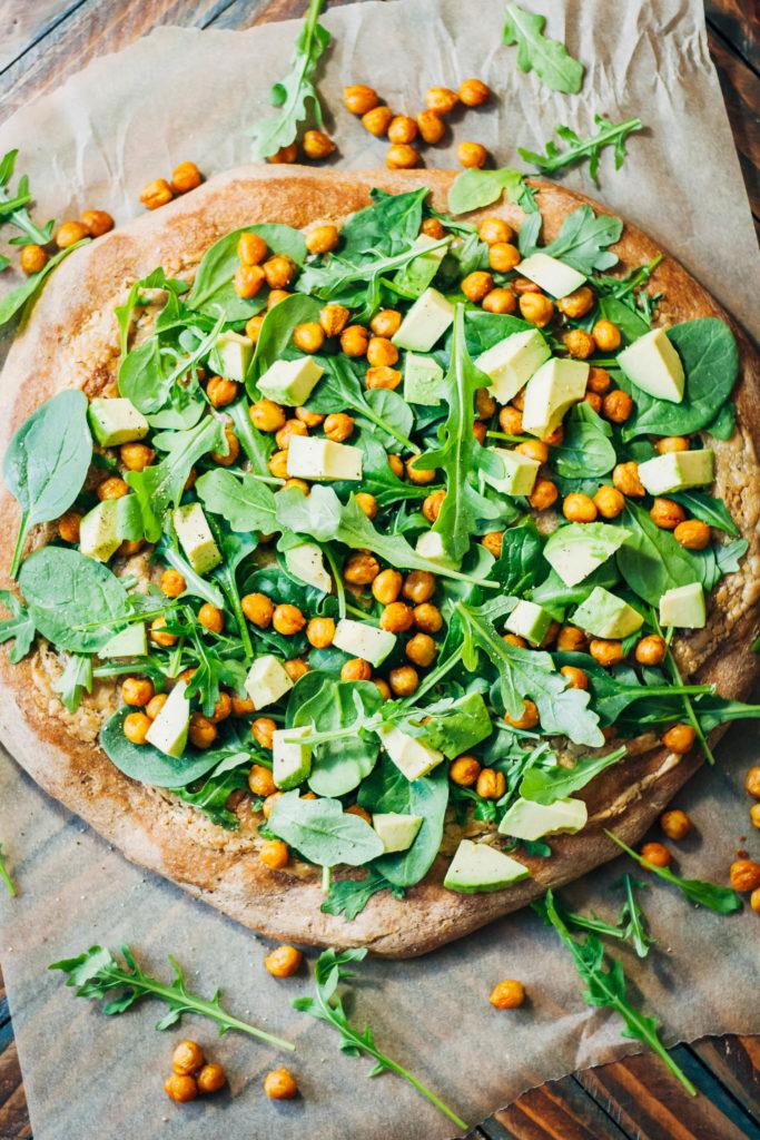 pizza vegan healthy recipe vegans health