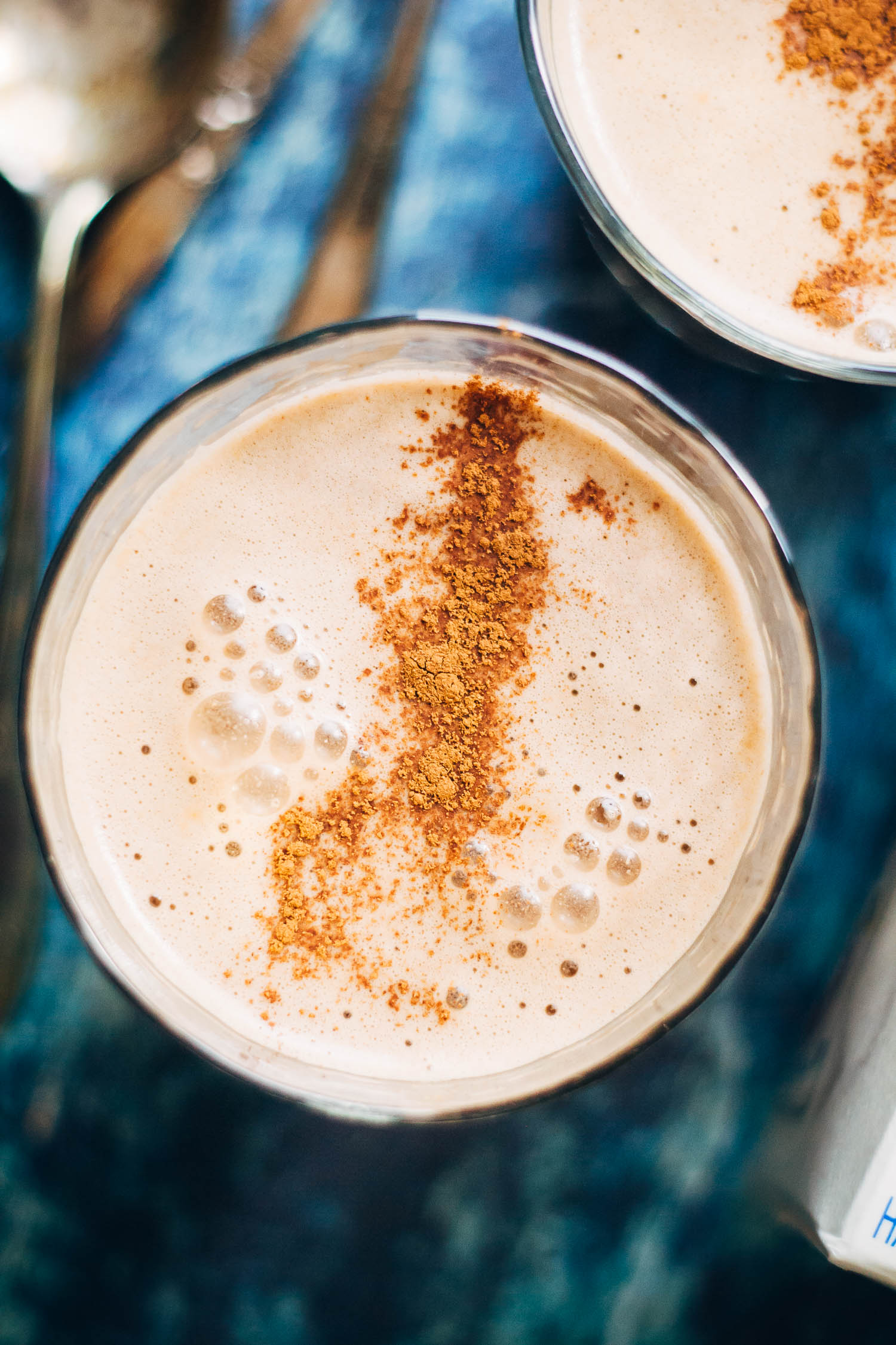 Vegan Mocha Latte | Well and Full | #healthy #recipe