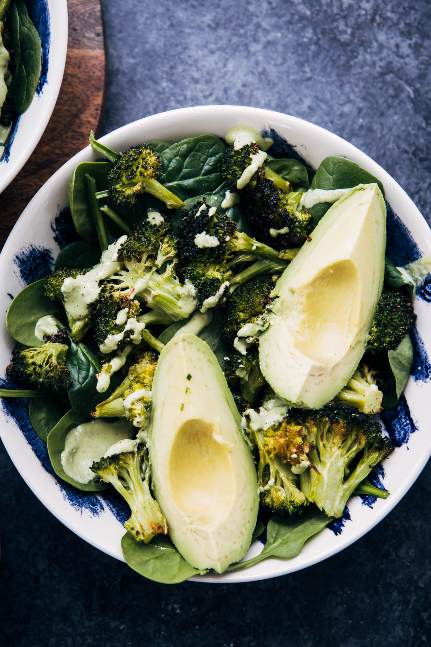 Vegan Broccoli Salad | Well and Full | #healthy #vegan #recipe