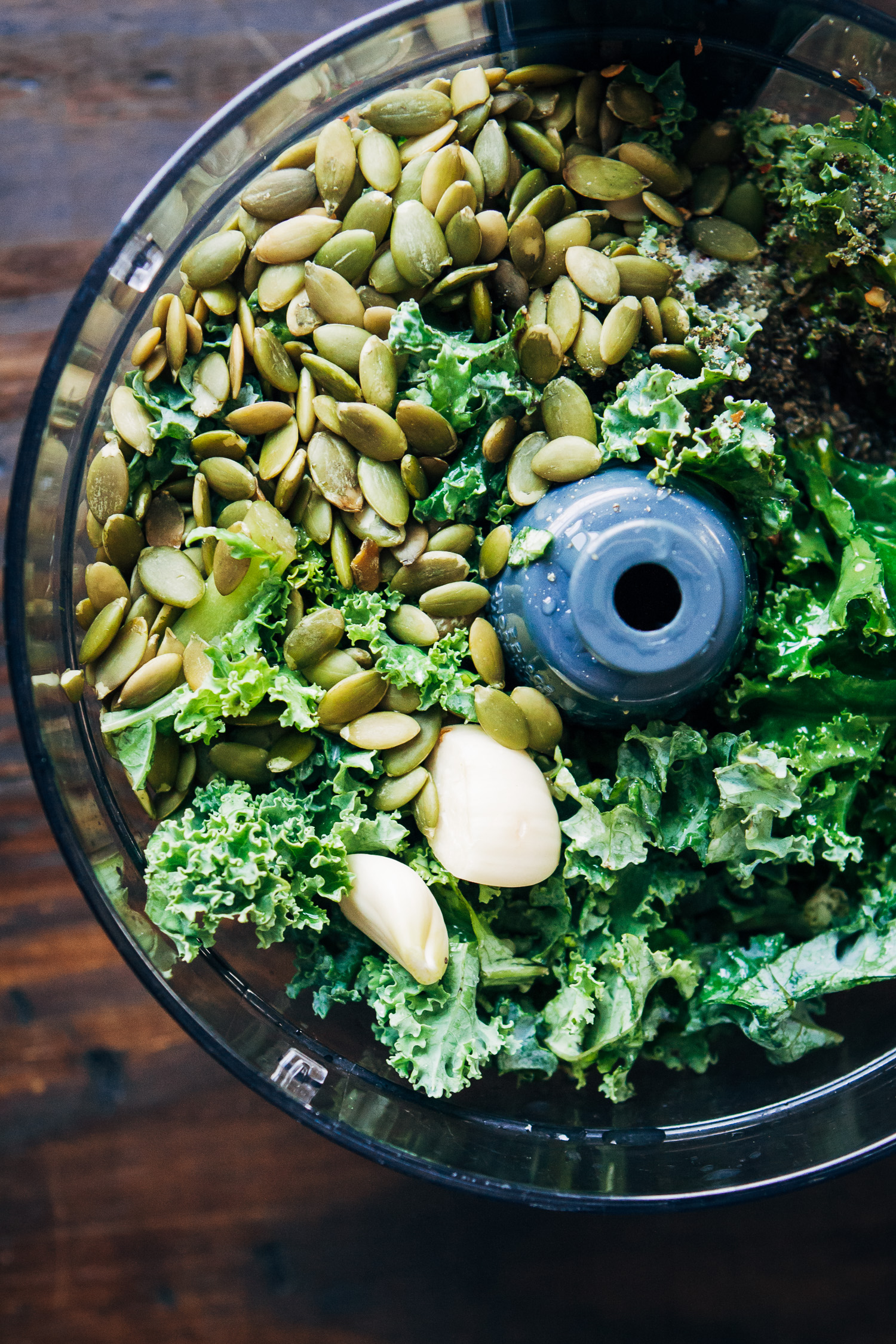 The Best Vegan Kale Pesto | Well and Full | #healthy #easy #plantbased #recipe