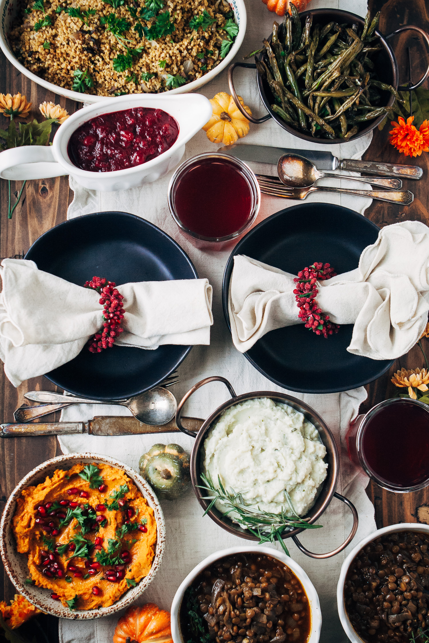 The Well and Full Vegan Thanksgiving | #thanksgiving #vegan #recipes