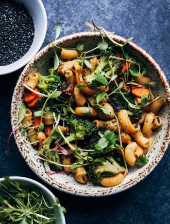Spicy Veggie Stir-Fry | Well and Full | #vegan #healthy #recipe