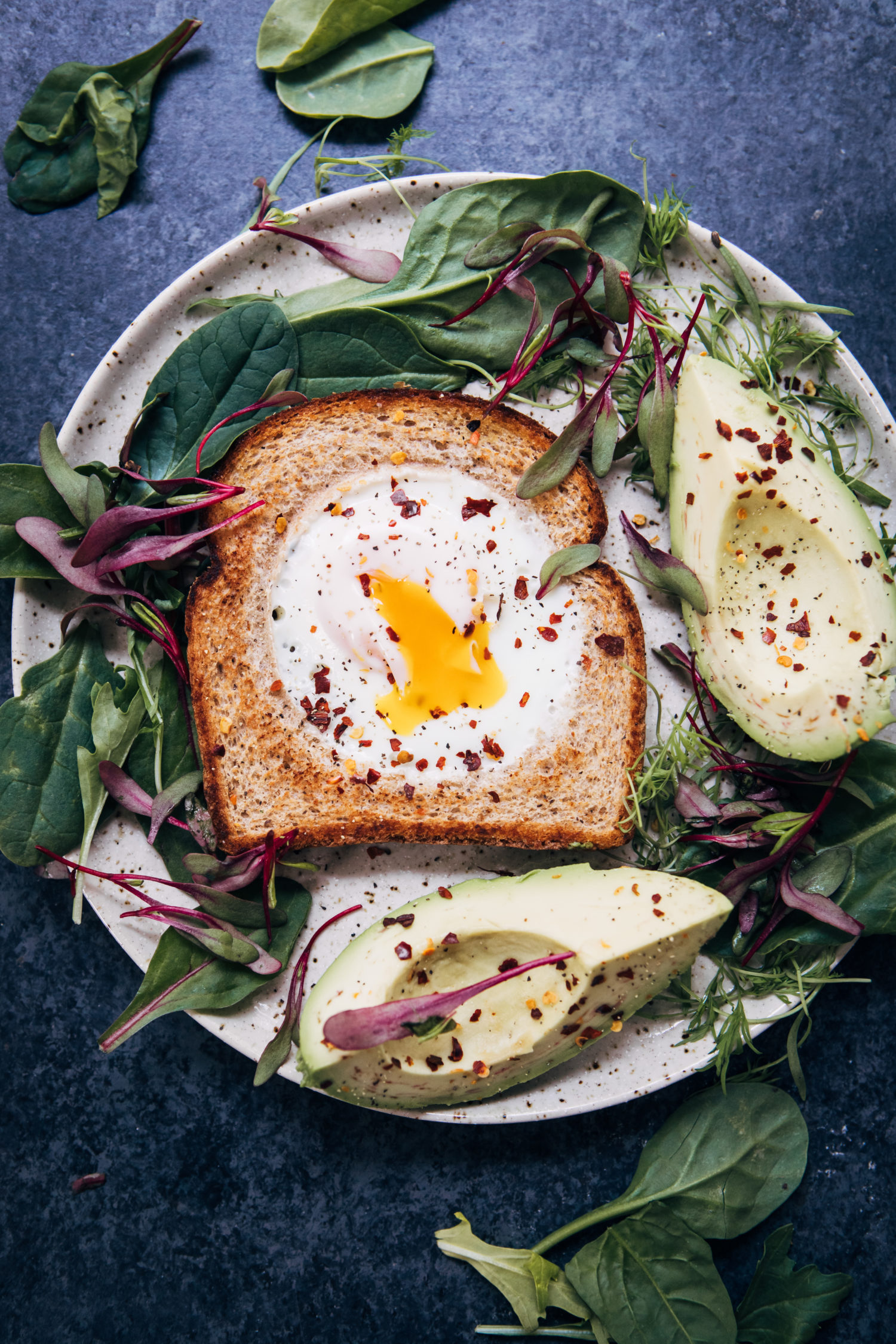 Rhode Island Red Toast | Well and Full | #vegetarian #breakfast #recipe