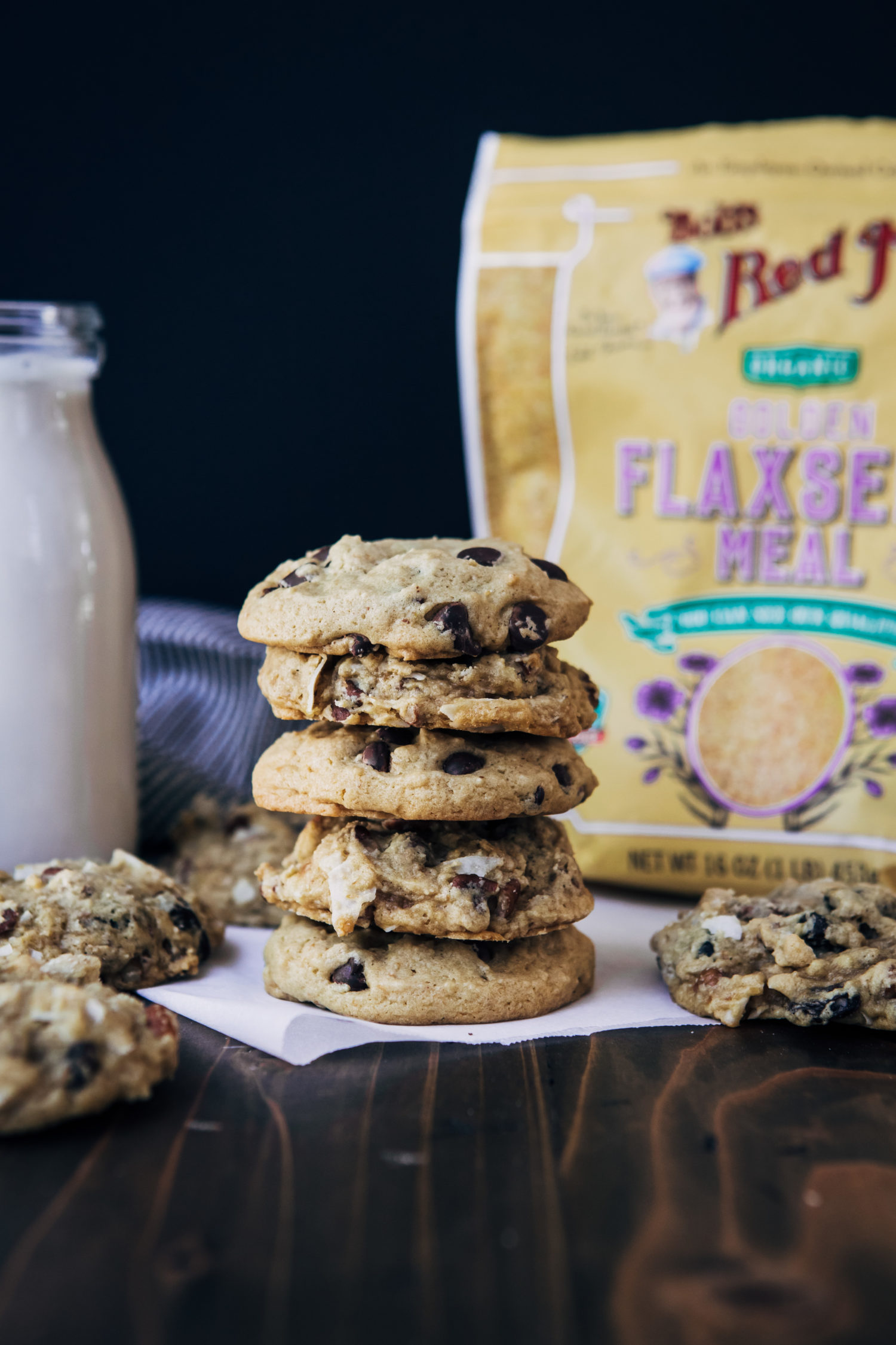 Vegan Anything Cookies | Well and Full | #vegan #recipe