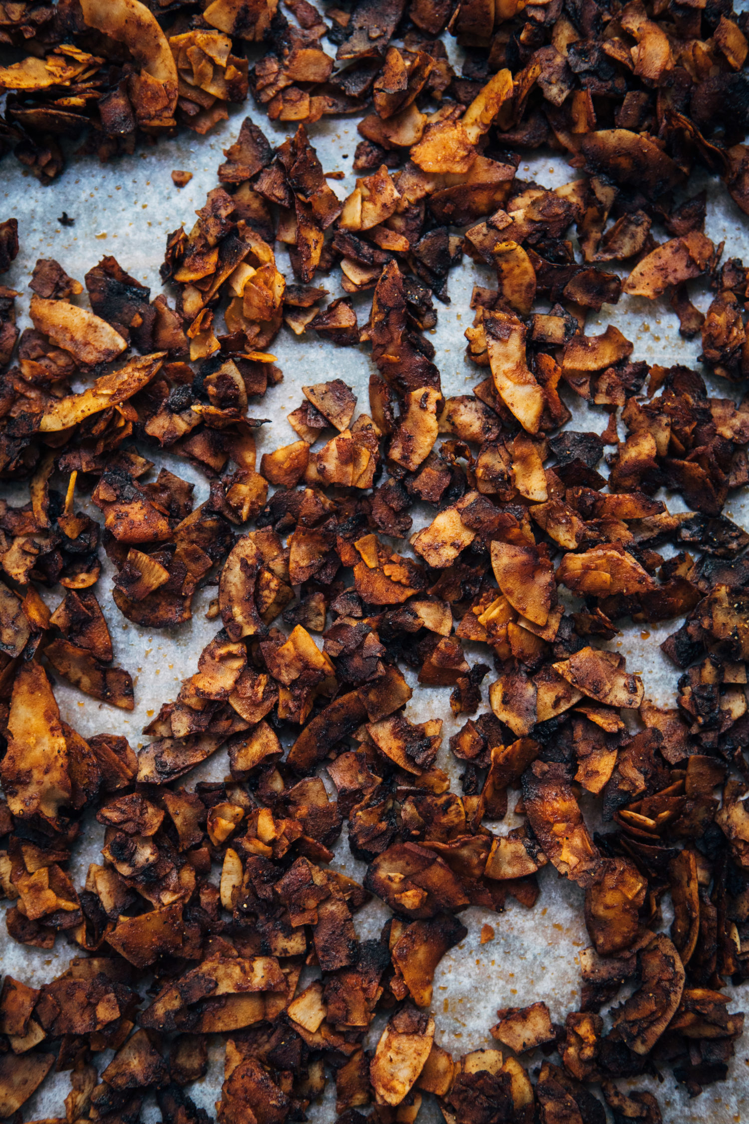 Vegan Coconut Bacon Without Liquid Smoke | Well and Full | #vegan #recipe