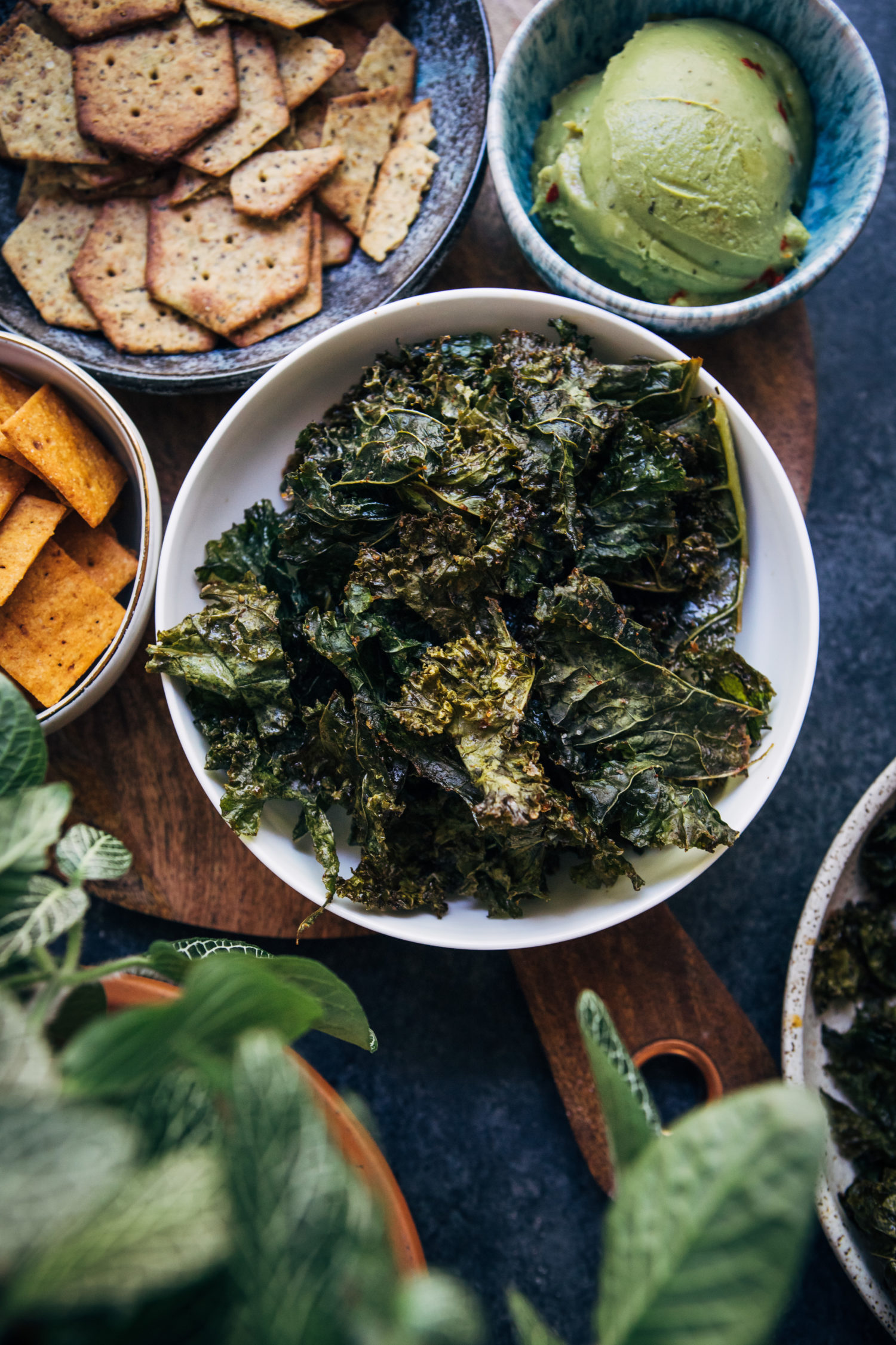 How To Make Kale Chips | Well and Full | #vegan #recipe