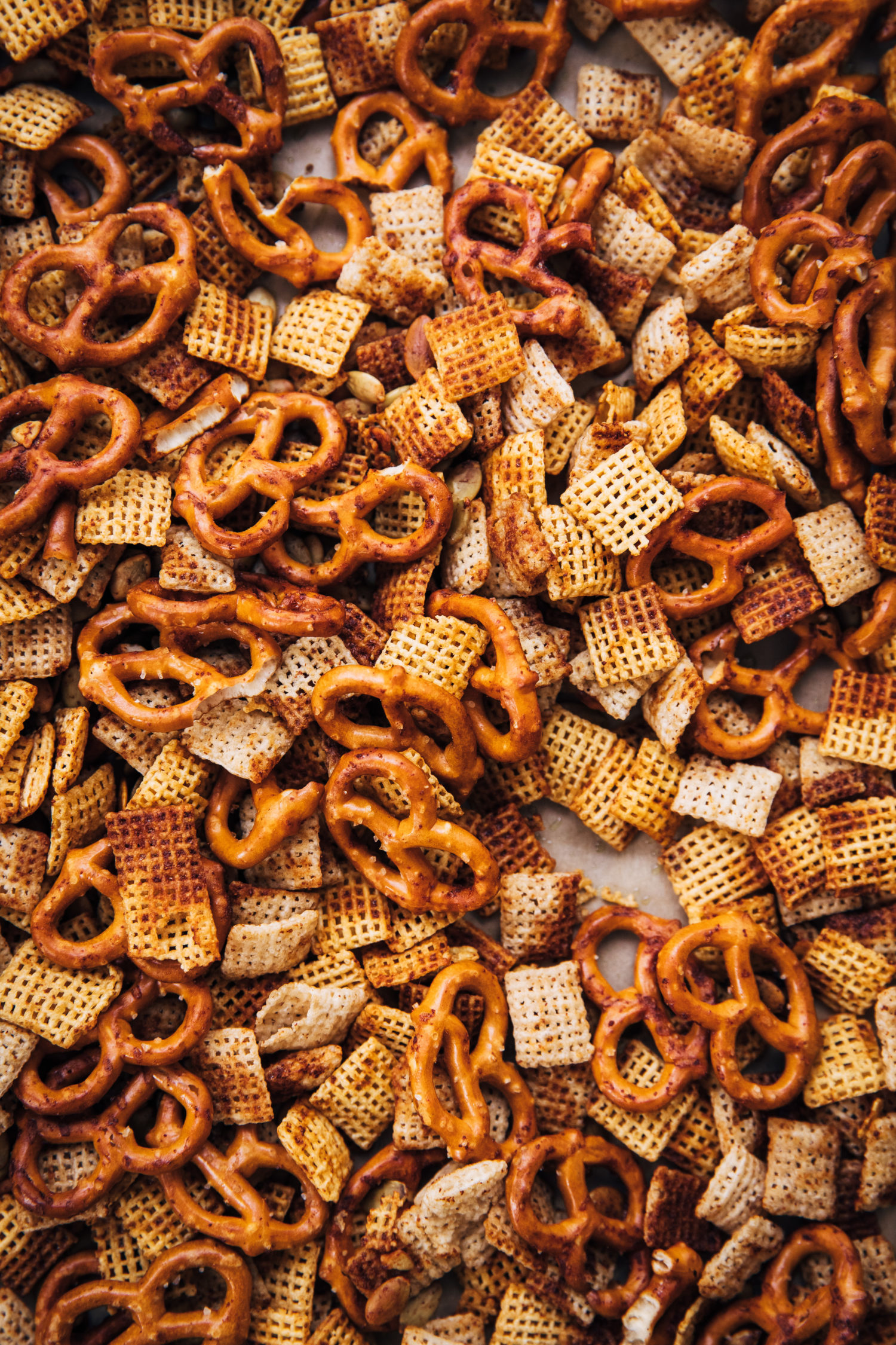 Gluten-Free Chex Mix | Well and Full | #glutenfree #vegetarian #recipe