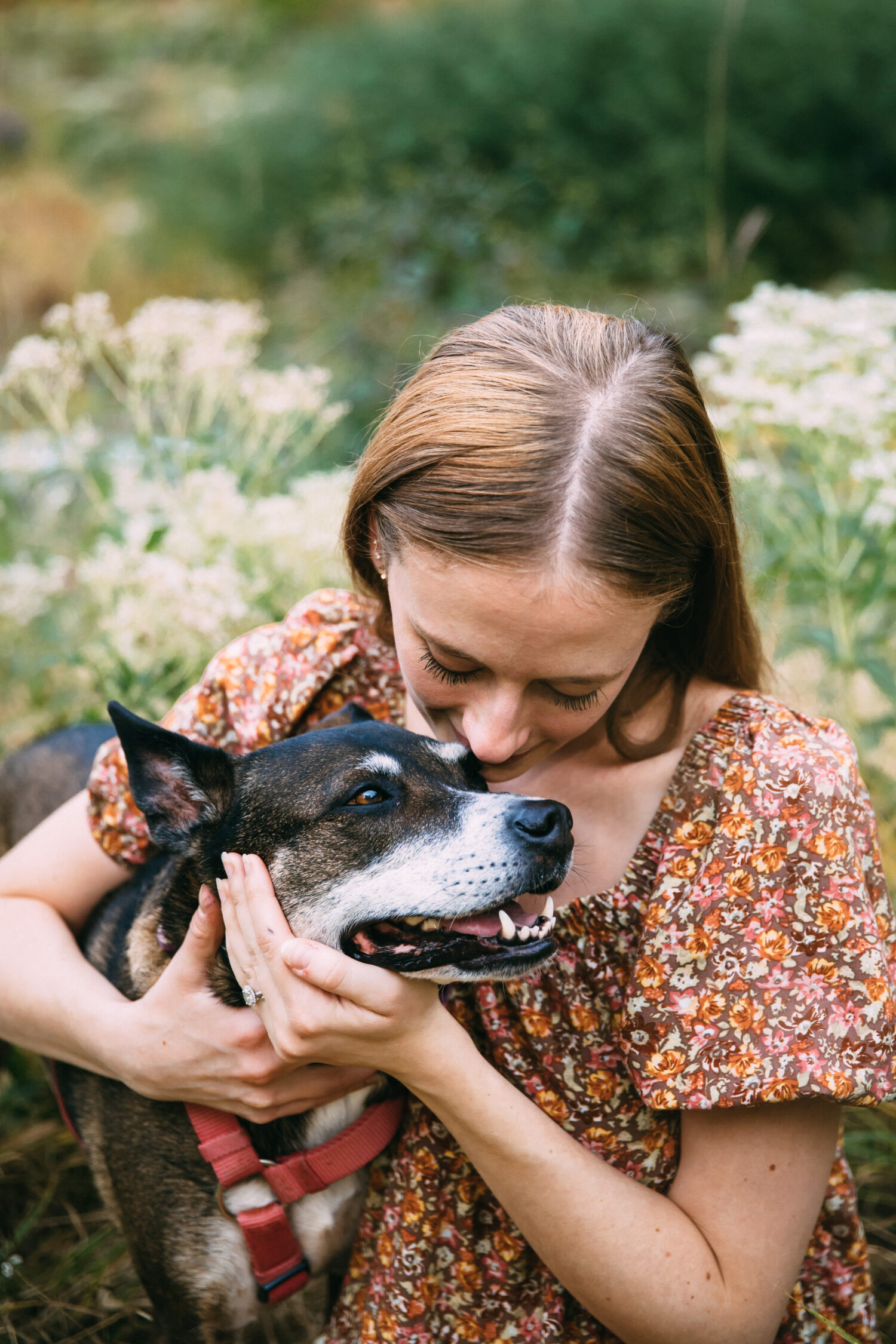 Sarah and her dog Ivy from Well and Full